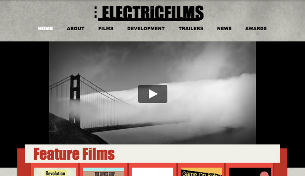 Film & TV website templates – Indie filmbedrijf