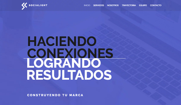 Comunicación y Marketing plantillas web – Diseño corporativo