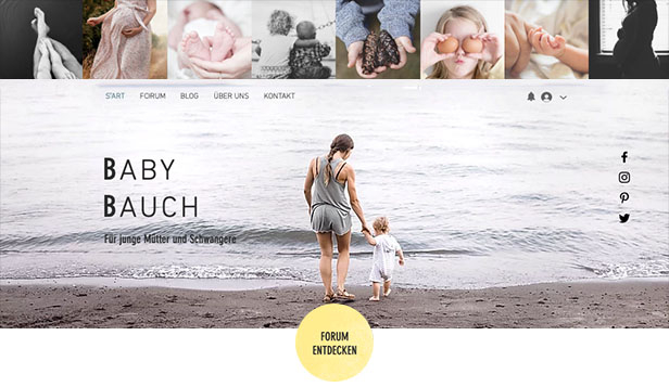 Blog website templates – Eltern-Forum