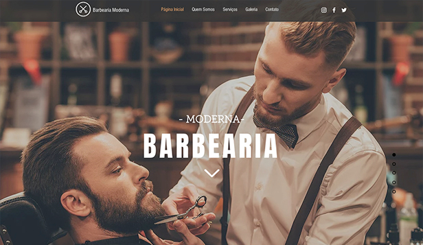 Pelo website templates – Barbearia