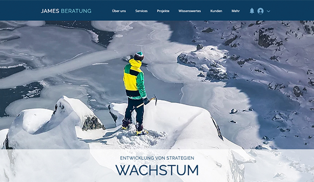 Beratung & Coaching website templates – Der Berater