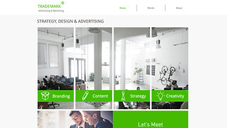 Advertising & Marketing website templates - Advertising and Marketing Firm