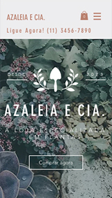 Ver todos os templates website templates – Boutique de Plantas
