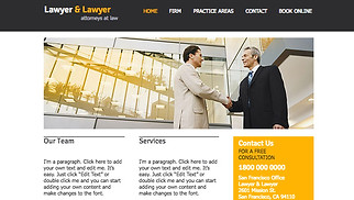 All website templates - Lawyer & Lawyer