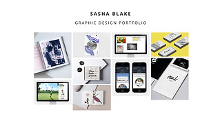 Portfolios website templates - Graphic Design Portfolio