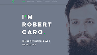 Graphic & Web website templates - UX/UI Designer Resume
