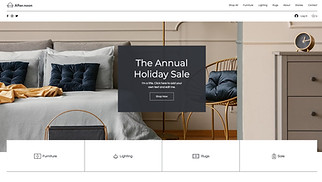 All website templates - Online Home Goods Store