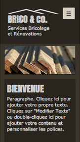 Travaux et Rénovations website templates – Bricolage