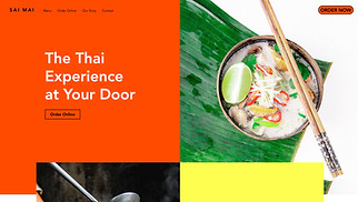 NEW! website templates - Asian Restaurant