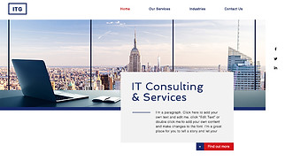 Most Popular website templates - IT Services Company