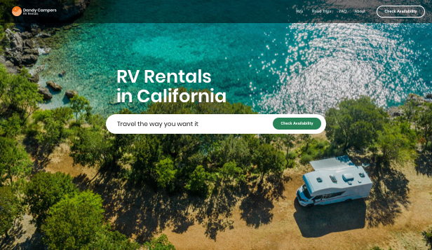 Otomotiv ve Arabalar website templates – RV Rentals