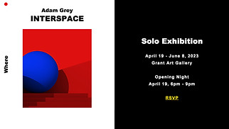 Events website templates - Art Exhibition