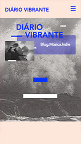 Arte e Cultura website templates – Blog e Podcast sobre Música Indie