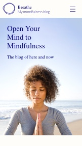 Blog & Forumlar website templates – Mindfulness Blogu