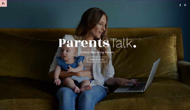 Новые website templates – Parenting Forum