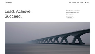 NEW! website templates - Business Consultant