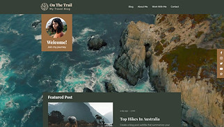 All website templates - Travelling Blog
