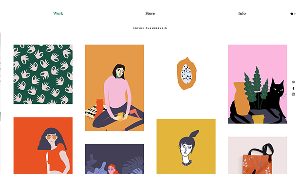 Design website templates – Grafisk illustratør