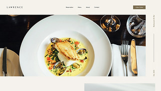 All website templates - Restaurant