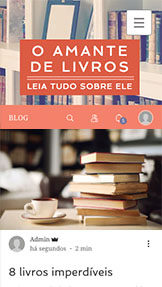 Blog website templates – Blog de Literatura