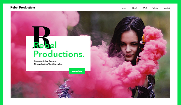 Film a TV website templates – Videoprodukce
