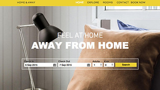 Travel & Tourism website templates - City Apartment Rental