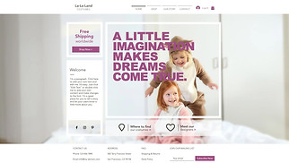 Kids & Babies website templates - Kids Costume Store