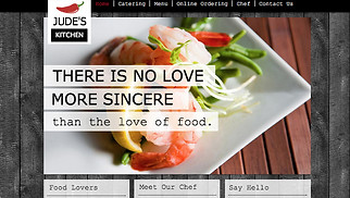 Restaurants & Food website templates - Chef Kitchen