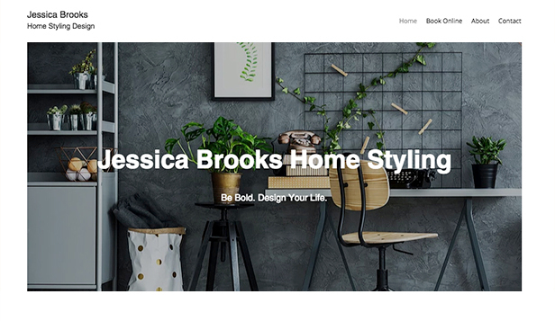Architektura website templates – Stylista mieszkań