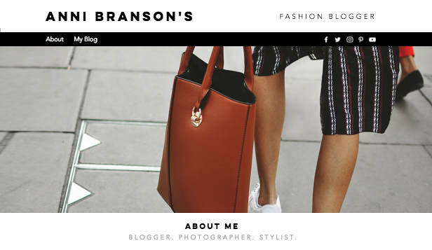 Blog template – Blog di Street Fashion