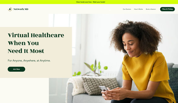 नया website templates – Online Medical Consultation