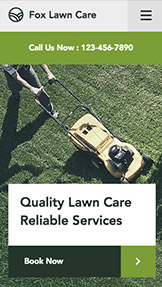 Services & Maintenance website templates – Lawn Care