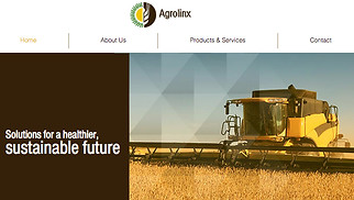 Farming & Gardening website templates - Agriculture Company
