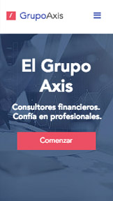 Negocios plantillas web – Consultora Financiera