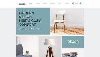 Home & Decor website templates - Home Decor