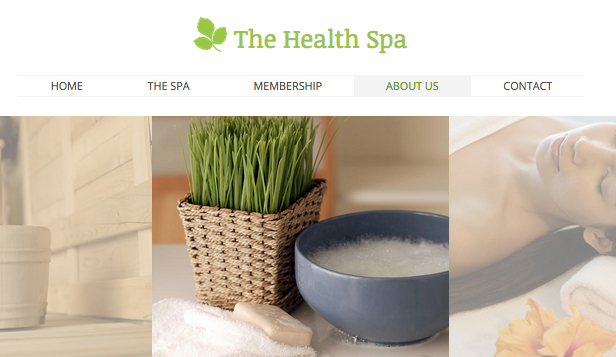 Wellness website templates – Wellnesshotel