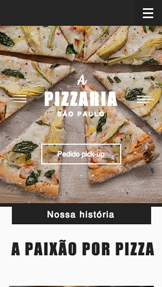 Restaurante website templates – Pizzaria