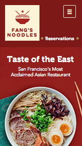 Templates de site web pour Restaurants - Restaurant Asiatique