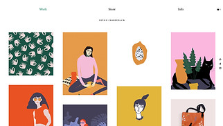 Visual Arts website templates - Graphic Illustrator