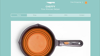Home & Decor website templates - Kitchen Shop