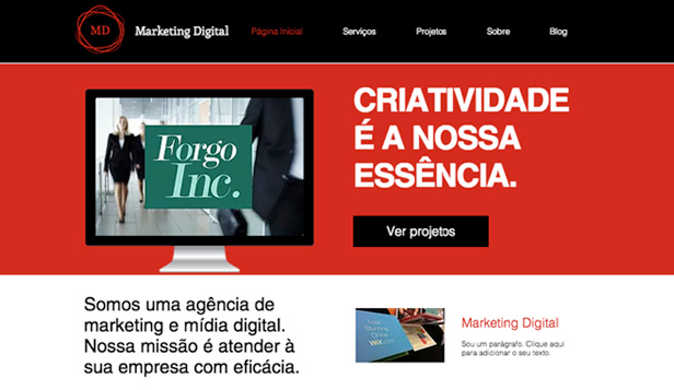 Templates de Propaganda e Marketing - Design Corporativo