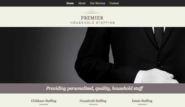 Business template – Personale Domestico