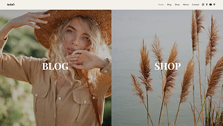 NEW! website templates - Influencer Blog