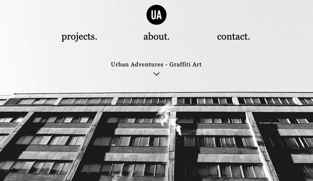 Projekt website templates – Artysta graffiti