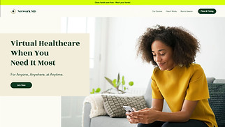 Health website templates - Online Medical Consultation