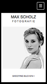 Fotografie website templates –  Fotostudio