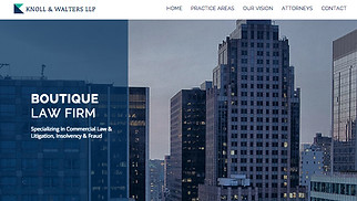 Finance & Law website templates - Law Firm