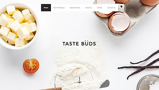 Restaurants & Food website templates - Cooking School