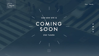 All website templates - Coming Soon Landing Page