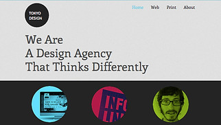 Graphic & Web website templates - Design Agency